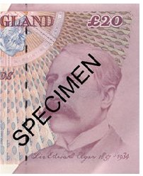 The Elgar £20 note no longer legal tender