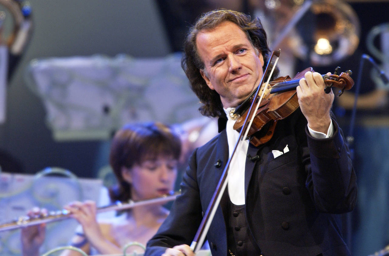 Andre Rieu to broadcast concert to UK cinemas