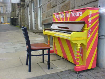 Street Pianos: Play Me, I'm Yours