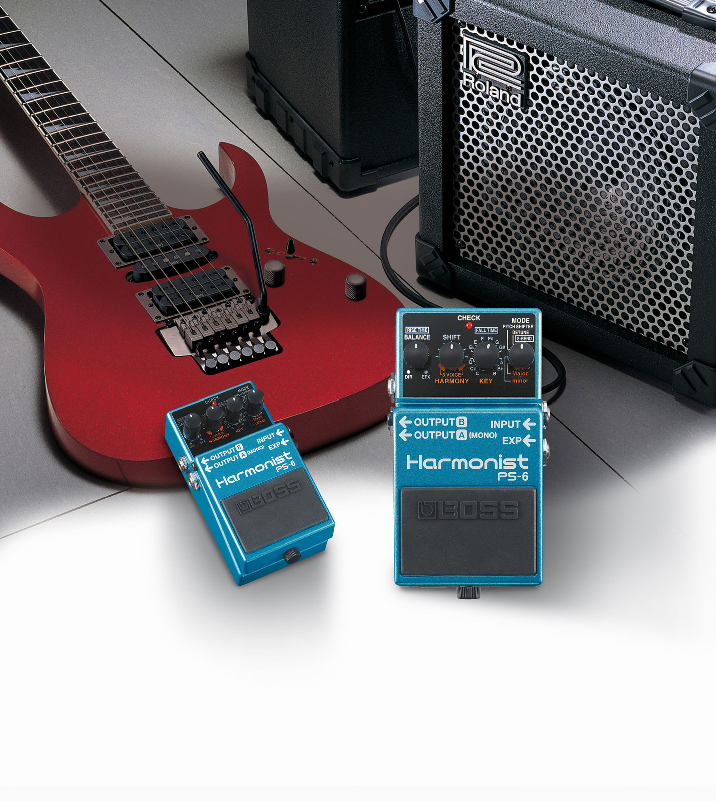 Boss PS-6 Harmonist Compact Pedal
