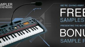 Free microSAMPLER bonus packs from Korg