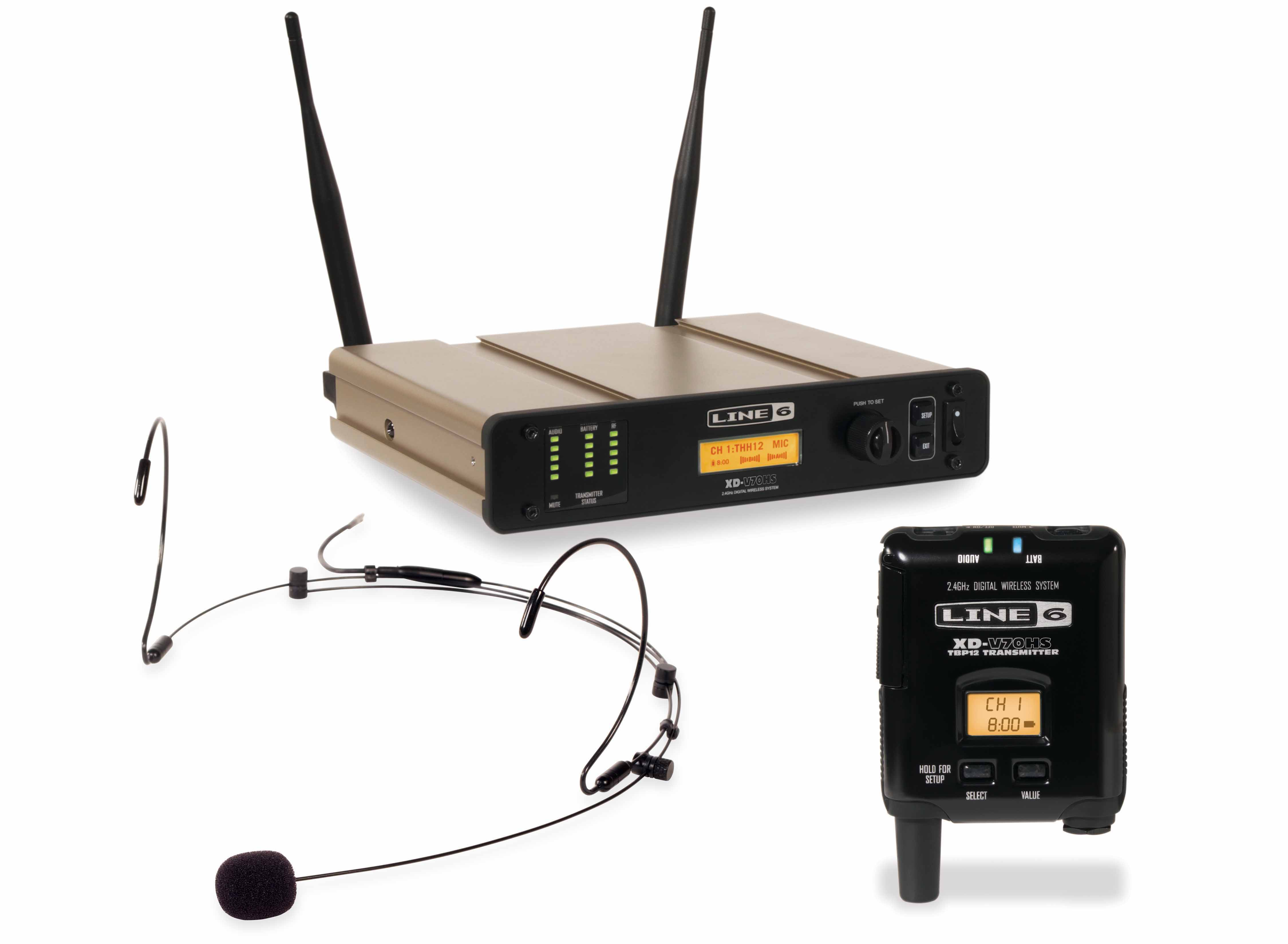 Line 6 Expands its line of digital wireless microphone systems