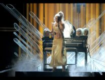 Lady Gaga Grammys 2011 Performance