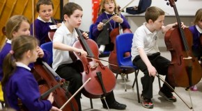 Finding a voice: the benefits of learning to play music for children with autism