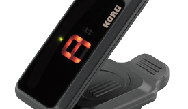Korg introduces Pitchclip guitar tuner