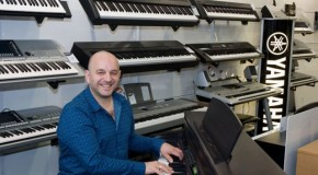 Pianist Elio Pace visits Musicroom Portsmouth!