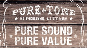 The new Pure Tone Acoustic Guitars are here!