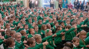 Burton students enter Guinness Book of World Records