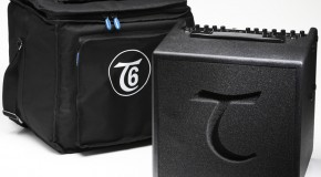 Musikmesse 2012: Checking out the Tanglewood T6 acoustic amp at Frankfurt