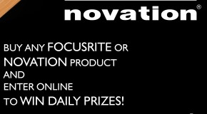 Win prizes when you buy Focusrite or Novation products in August