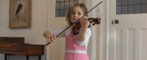 The new Mozart? Seven-year-old Alma Deutscher composes her own opera