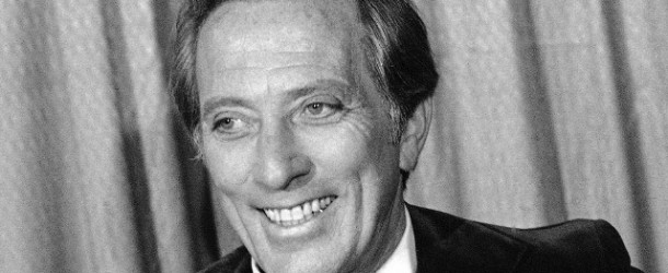 Andy Williams, the man who sang Moon River, has died