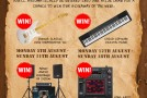 WIN prizes throughout August when you spend over £15 at Musicroom.com