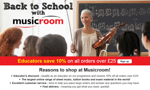 Back To School with Musicroom