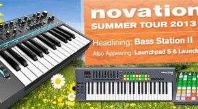 Novation Bass Station II summer tour coming to Musicroom London, York and Nottingham