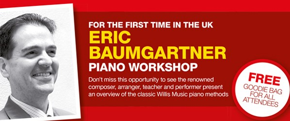 Musicroom London: Eric Baumgartner Piano Workshop