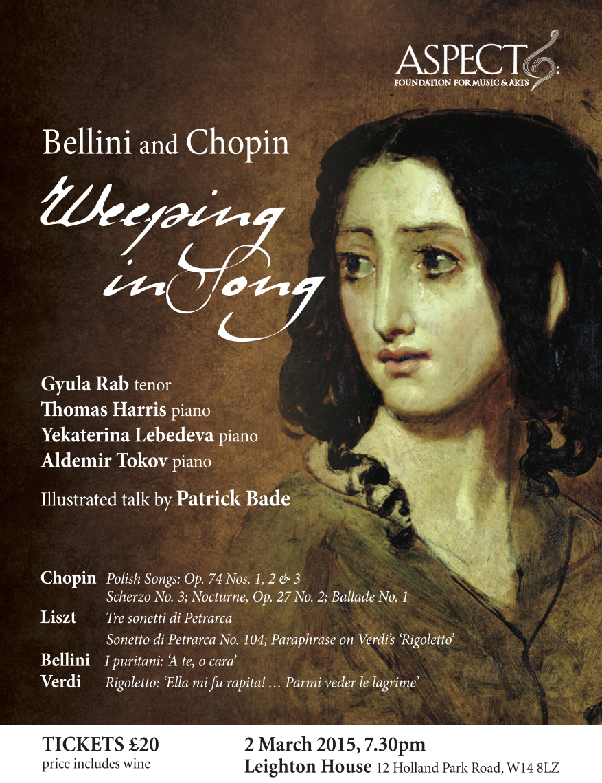 Bellini and Chopin