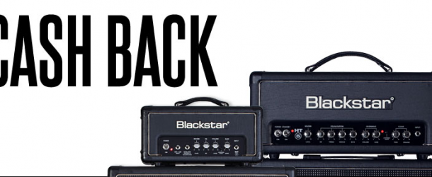 Get cashback when you buy a new Blackstar amplifier