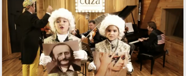 VIDEO: Kids get into classical via LMFAO, Adele and Justin Bieber