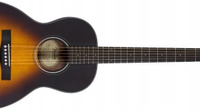 New Fender Acoustic Folk and Parlour Models