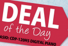 Advent calendar day 5: A great deal on Casio's CDP 120 digital piano