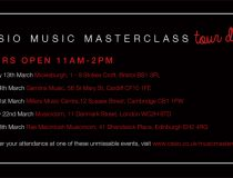 Casio Masterclass Demo Sessions