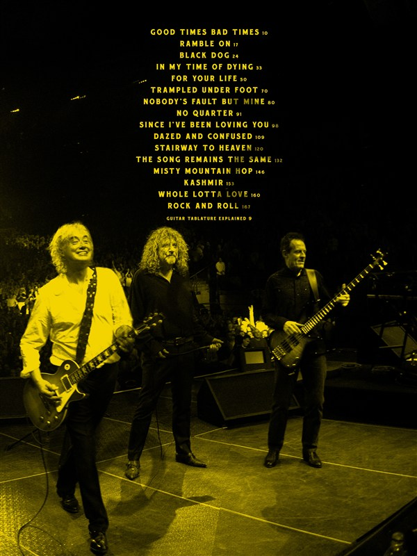 Led Zeppelin Celebration Day Tab Book Now Available Musicroom Blog