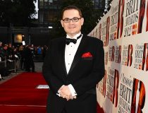 Paul Mealor, the composer of the Military Wives Choir hit 'Wherever You Are' arrives at the awards.