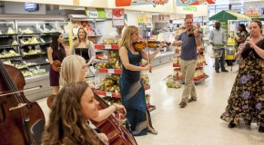 Classic FM celebrate 20th birthday with supermarket flashmob