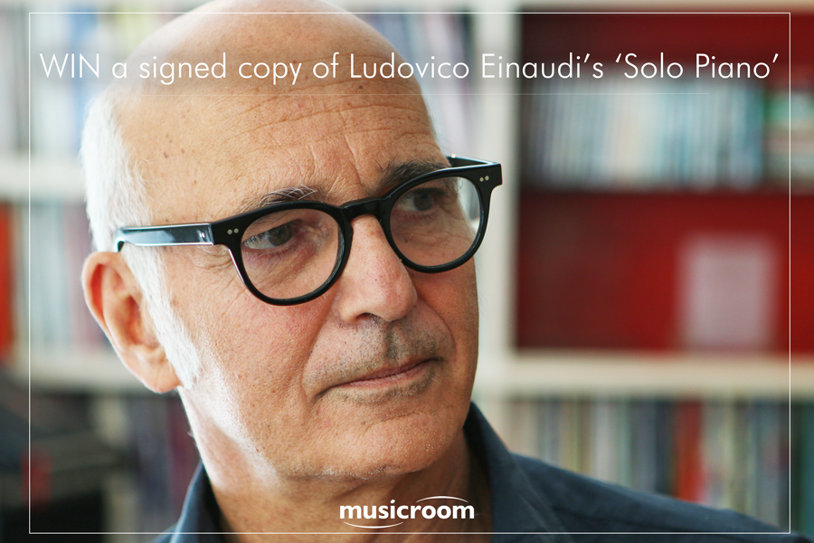 Win A Signed Copy Of Ludovico Einaudi's 'Solo Piano'