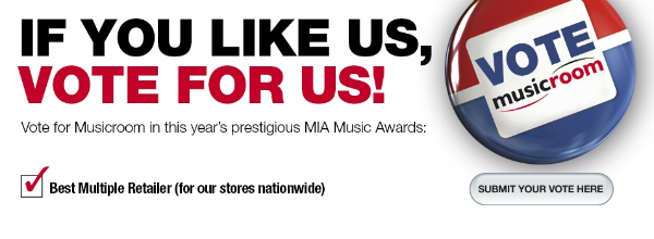 Vote for Musicroom in the MIA Awards 2012