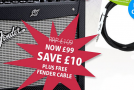 Advent calendar day 7: Fender Mustang amp deal of the day