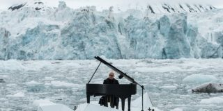 Ludovico Einaudi Performs 'Elegy for the Arctic' On An Iceberg For Greenpeace