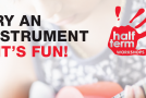 Half-term events: Try an instrument at Musicroom Galleria on May 29