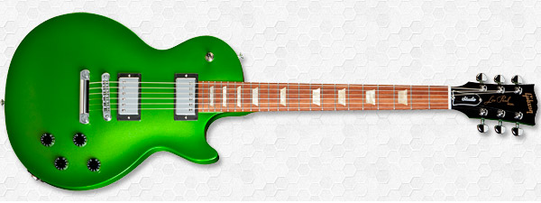 Gibson Les Paul Studio Nitrous Electric Lime