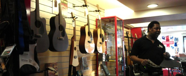 Martin and Epiphone guitars arrive at Salisbury