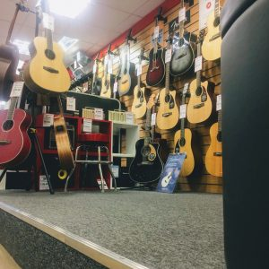 Guitars at Musicroom Edinburgh