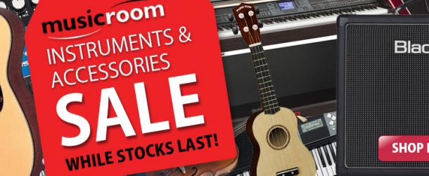 Acoustic and electric guitars and amp deals in the Musicroom January sale
