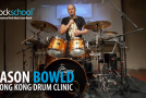 Rockschool serve up free weekly Jason Bowlds drum clinic masterclass videos