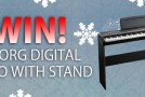 Advent calendar day 3: WIN a Korg digital piano