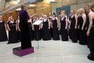 Salisbury Plain Military Wives Choir sing on Diamond Jubilee record