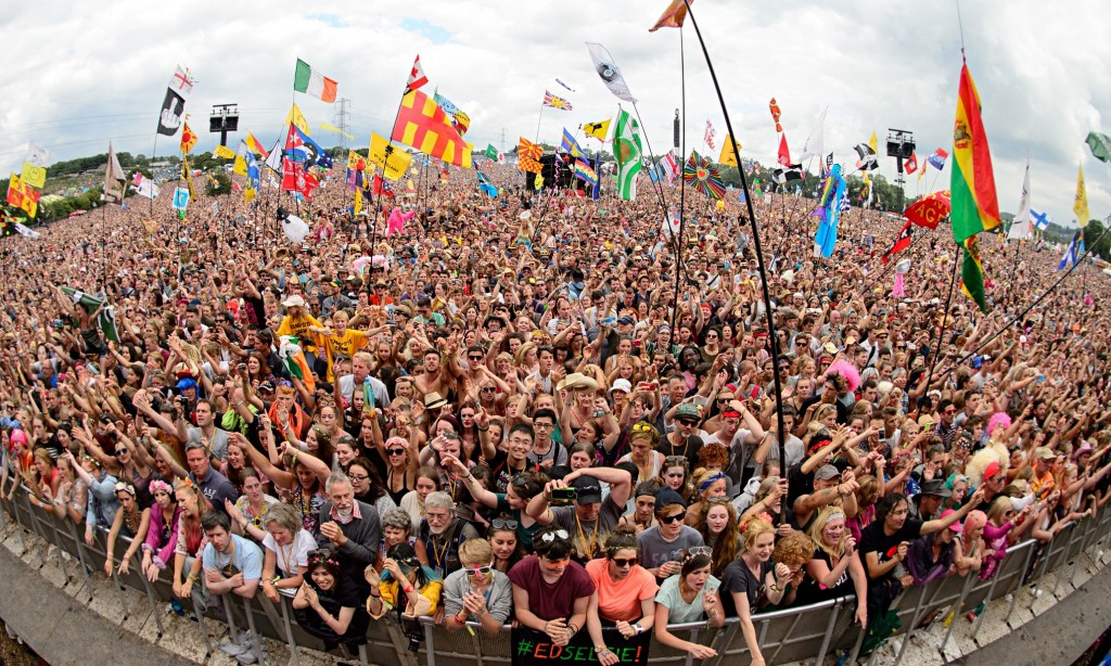 Last year's Glastonbury festival, staple of the British summer circuit.