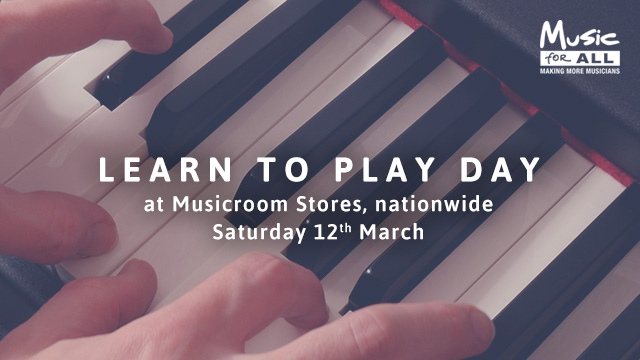 Learn To Play Day: Free Music Lessons For All!