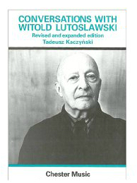 Conversations With Witold Lutoslawski is available now at Musicroom.com.