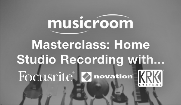 Musicroom Masterclass: Home Studio Recording