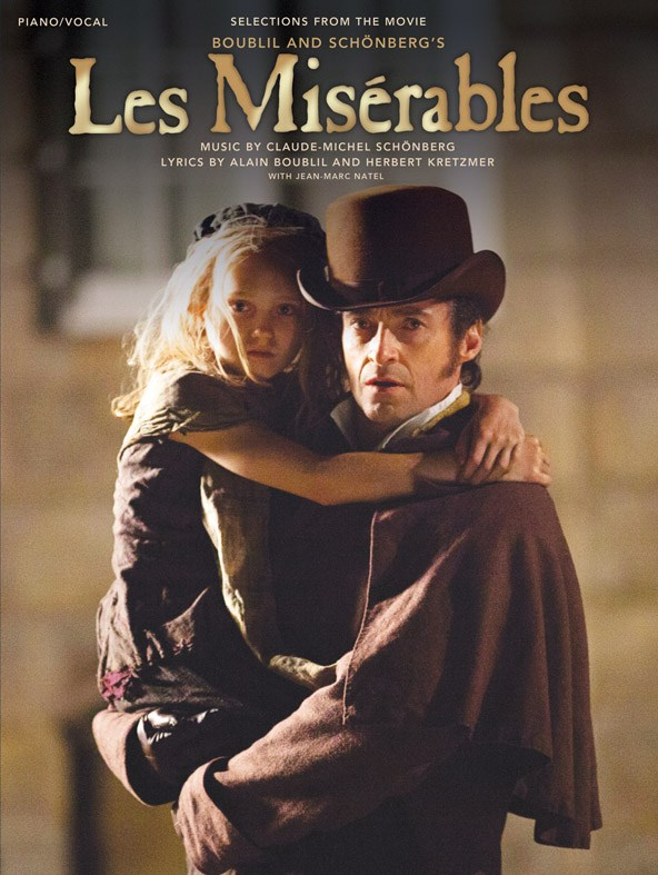 Les Misérables - the official songbook - available now from Musicroom.com!