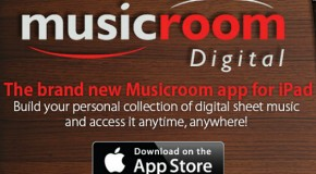 Download the Musicroom app for iPad