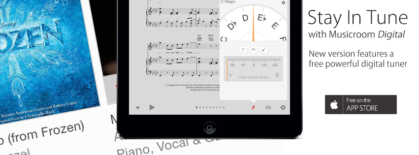 Stay In Tune – With The New Musicroom App