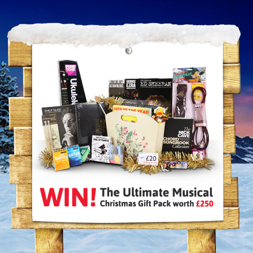 Win A Musical Hamper Worth £250! (Competition Now Closed)