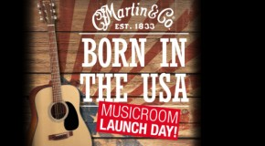 Peter Honoré Q&A and performance at Musicroom Brighton for Martin guitar event on July 20